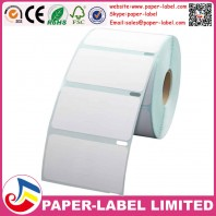 """Dymo Compatible 30299 Jewelry Labels - 7/16"""" x 2-1/8"""" - Barbell Style"""